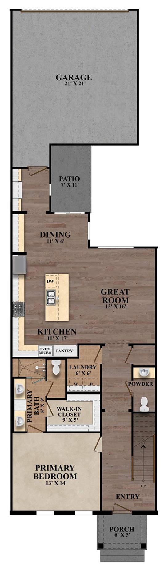 The Ashford - Plan A First Floor