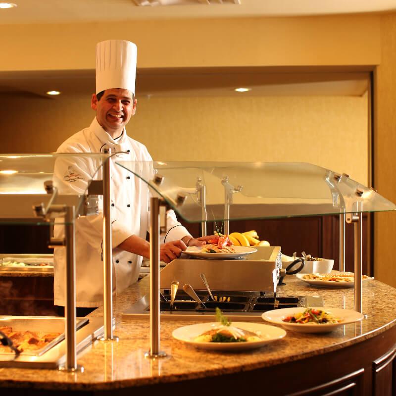 Crowne Plaza Louisville Chef Paul Sant